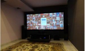 Saletta home cinema 21:9