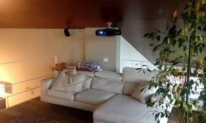 home cinema videoproiezione