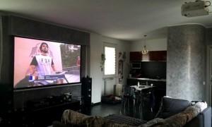 home cinema in salotto