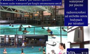 Impianti audio video per centri sportivi e piscine