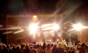 Katia Ricciarelli servizio audio, luci by Bensotech srl
