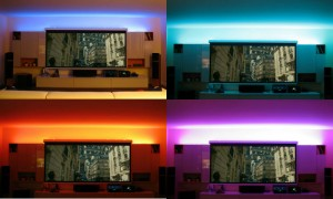 Effetto luci LED integrate
