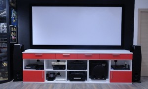 frontal view home cinema bensotech