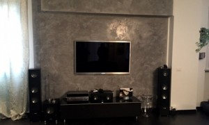 home cinema in living room