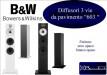 B&W 603