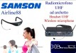 Samson Airline88 headset