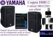 Yamaha DBR12 coppia + Mixer MG12XU